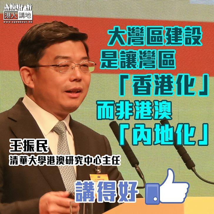 【以正視聽】王振民談大灣區建設:讓灣區「香港化」而非港澳「內地化」
