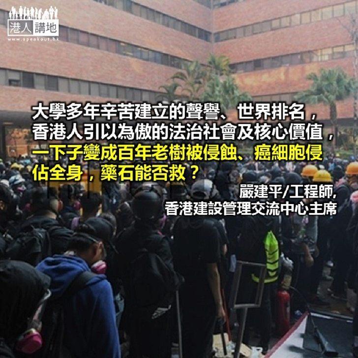 校園並非法外之地 暴亂違法抱憾終生