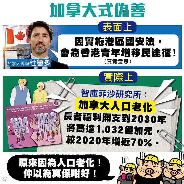 【今日網圖】加拿大式偽善