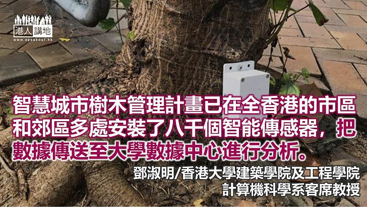 關注樹木護養 減少塌樹風險