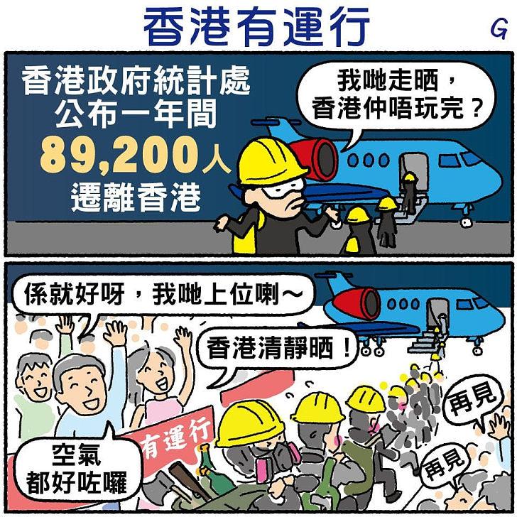 【今日網圖】香港有運行